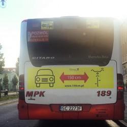 logo 150 na autobusach