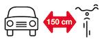 Kampania edukacyjna 150 cm dla rowerów